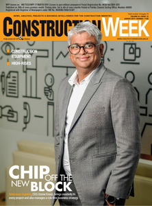 Construction week India August 2019