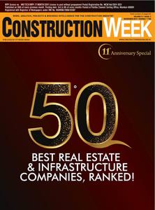 Construction week India November 2019