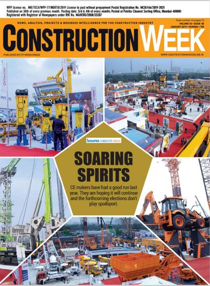 Construction week India January  2019
