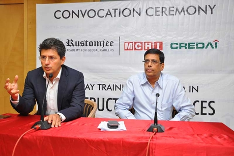 MCHI-CREDAI collaborates with Rustomjee academy