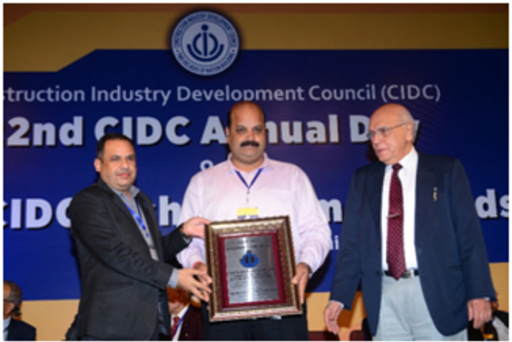 Tata BlueScope Steel bags CIDC Vishwakarma Award for Safety, Health and Environment, second time in a row