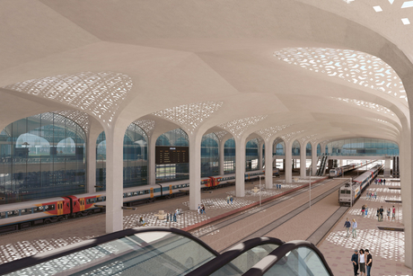 Voyants Solutions industrialises BIM workflows to design iconic station for Indian Railways