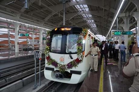 Nagpur Metro flagged off by PM Modi