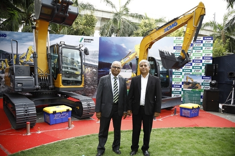 Schwing Stetter India launches XCMG excavator range for the construction and mining industry