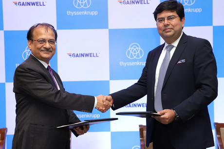 thyssenkrupp Industries enters the Indian aggregates market with Gainwell