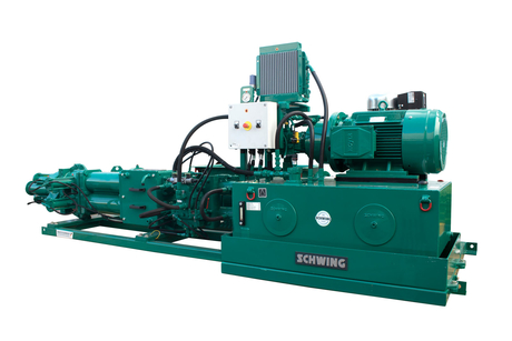 Schwing Stetter displays exclusive range of Smartec Sludge pump for the first time at IFAT Expo 2019