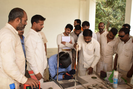 Stainless steel fabrication training programme held for Varanasi Central Jail inmates