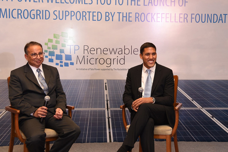 Tata Power and The Rockefeller Foundation announce breakthrough enterprise to empower Indians with renewable microgrid electricity