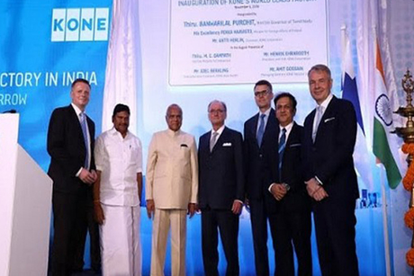 KONE opens new facility with an investment of Rs 450 crore in Chennai