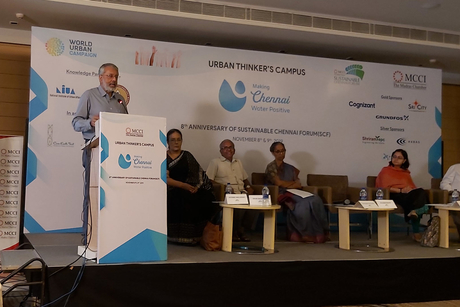Experts meet to see how to make Chennai water positive