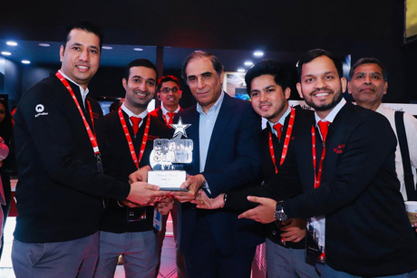 Schindler India awarded Grand Stand Platinum Winner by Hafeez Contractor