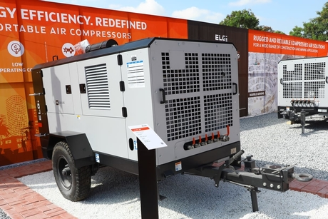 ELGi launches future ready, energy-efficient  portable air compressors at EXCON 2019