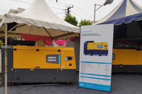 Atlas Copco unveils next generation portable air compressors at Excon 2019
