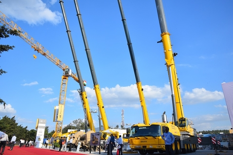 TIL launches two cranes at Excon 2019