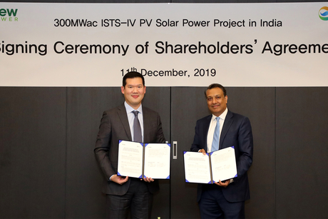 ReNew Power announces joint venture with Korean major GS E&C