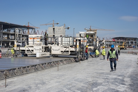 WIRTGEN GROUP machines driving the construction of the new Istanbul airport