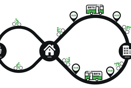 MYBYK launches its bicycle feeder service for Mumbai Metro One Private Limited (MMOPL)
