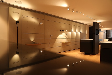 GM celebrates its association with Occhio Lighting with the opening of a flagship Occhio store