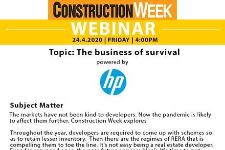 Webinar III - Building a future
