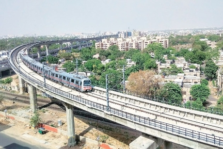 Ahmedabad-Gandhinagar Metro Phase-I sees cost escalation