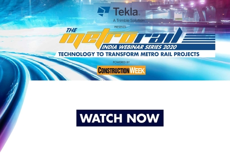 Tekla presents Metro Rail Webinar Series 2020 and powered by Construction Week