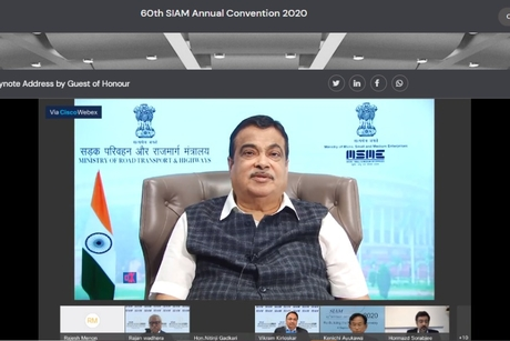 Gadkari upholds long term regulatory roadmap & infrastructure development at SIAM 60th Annual Convention