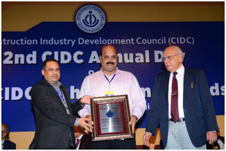 2018, Award, Building, CIDC, Environment, Health, LYSAGHT, Products, Safety, Steel, Tata BlueScope, Vishwakarma, News
