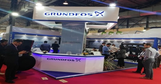 Grundfos India showcased its intelligent pumping solutions at ACREX India 2019.
