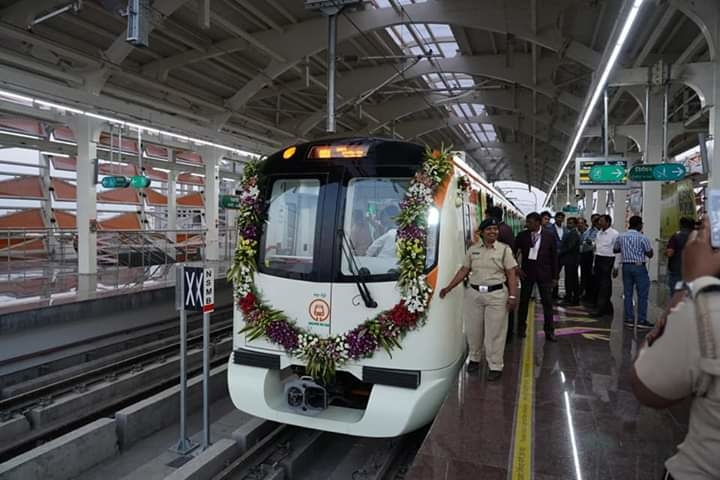 This phase of the Nagpur Metro will comprise of five stations.