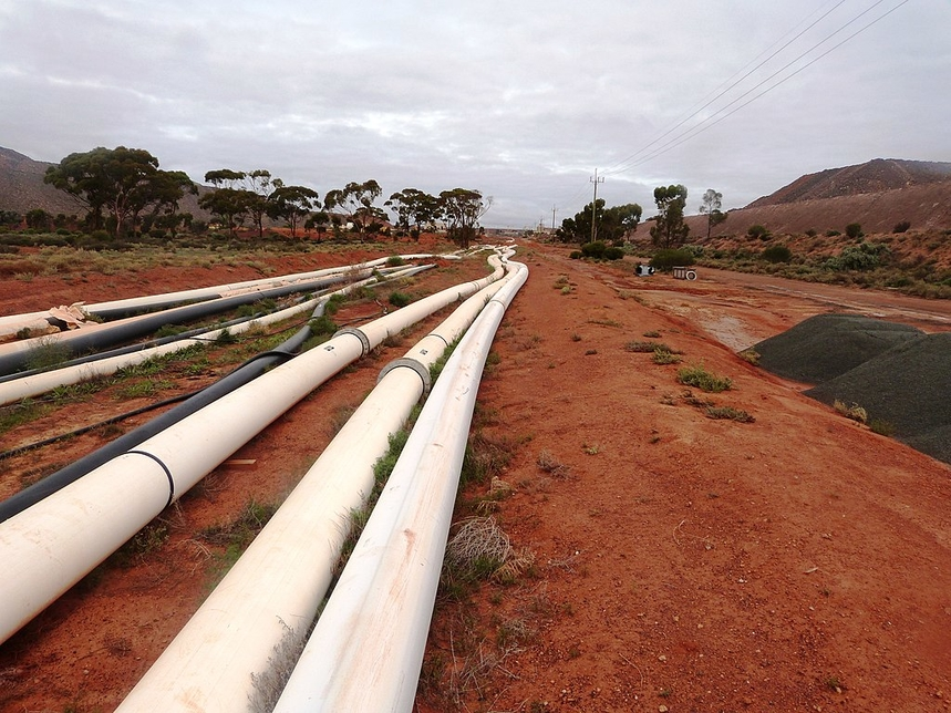 JMC Projects, Water pipeline, Buildings