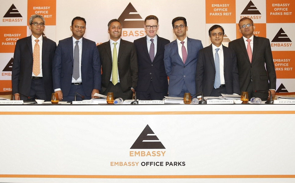 Embassy Office Parks, REITs, Commercial, Bangalore
