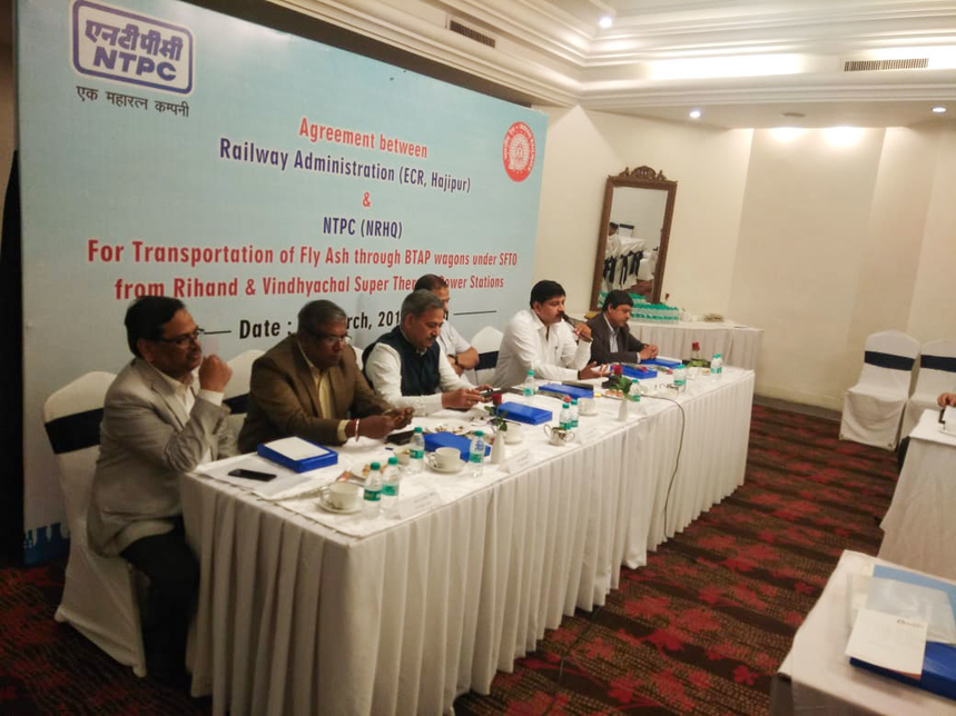 NTPC, Fly ash, Indian Railways, Thermal power plants, Sustainable