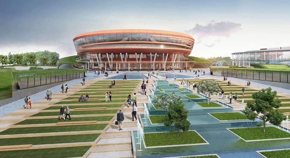 CP Kukreja Architects was responsible for the design of Pragati Maidan.