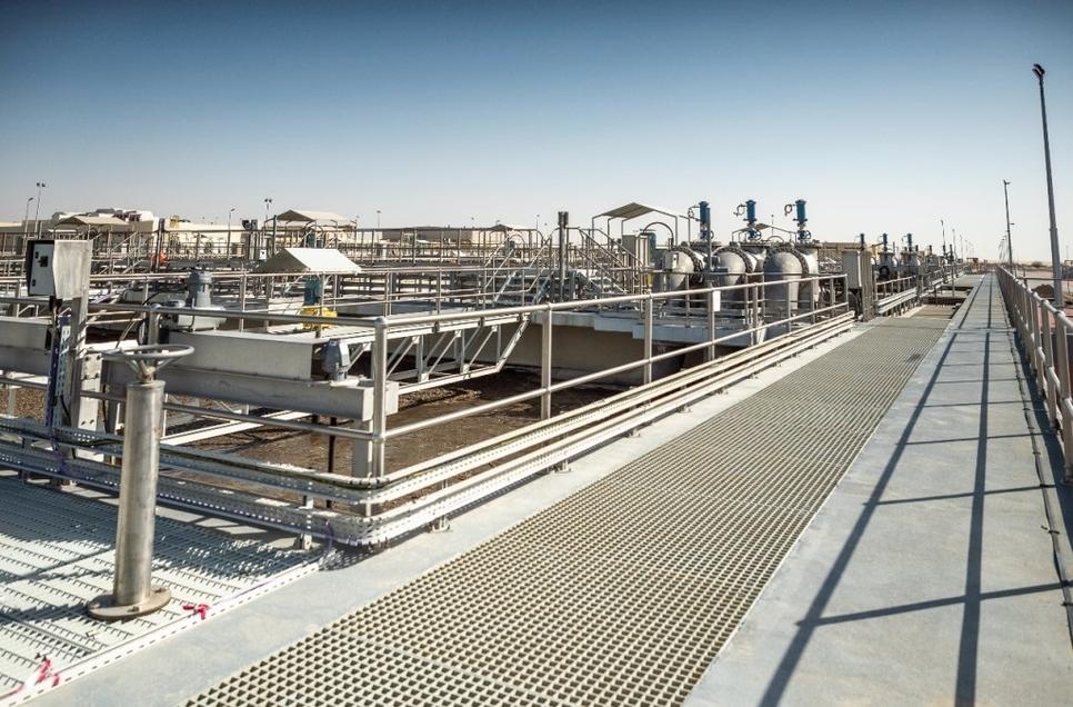 L&T Construction, Jebel Ali, Sewage treatment plant, BESIX, Talib Julfar