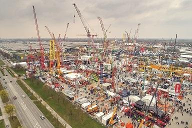 Bauma Munich, Wirtgen group, CASE Construction, Manitowoc, MB Crusher, BKT, Schwing Stetter, Komatsu, Putzmeister, Goldhofer, Hyundai Construction Equipment
