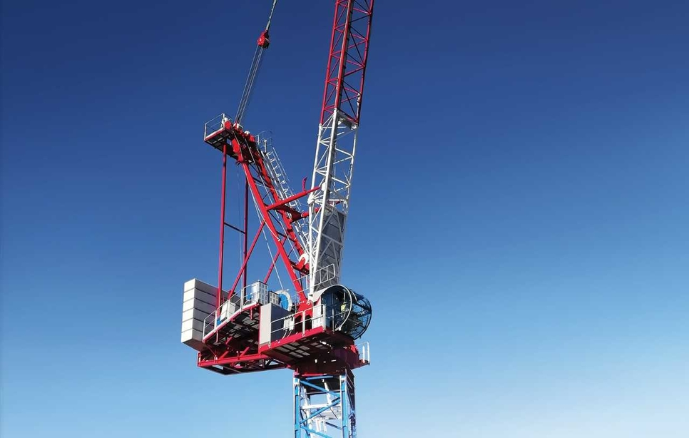 Raimondi Cranes, Luffing range, Domenico Ciano, GR6B, GR5H, Mauro Masetti, Hydraulic luffing