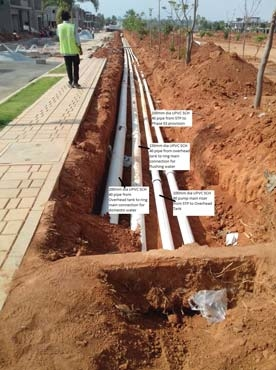 Plumbing is as essential to building construction as the construction itself.