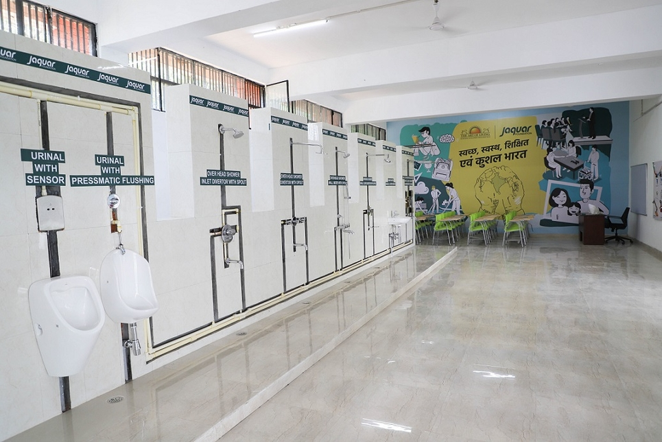 The Jaquar Group skill development centre.