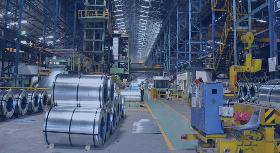 JSW Steel, Asian Colour Coated Ispat, Vardhman Industries, Steel manufacturing, Bhushan Power and Steel, Monnet Ispat, Hot rolled coil, Jayant Acharya, Maharashta, Haryana, Colour-coated steel, Galvanised products, Usha Martin Steel