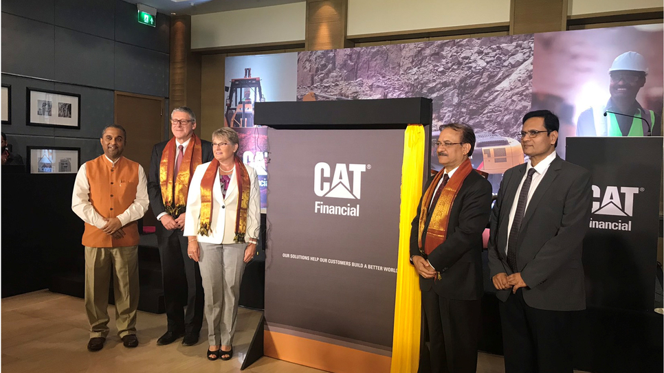 Cat Financial, Bangalore, Company, Cat Financial India, Gmmco, Gainwell Commosales, Caterpillar, Christopher Lee Farrar, Chandrashekar V, Asia Pacific