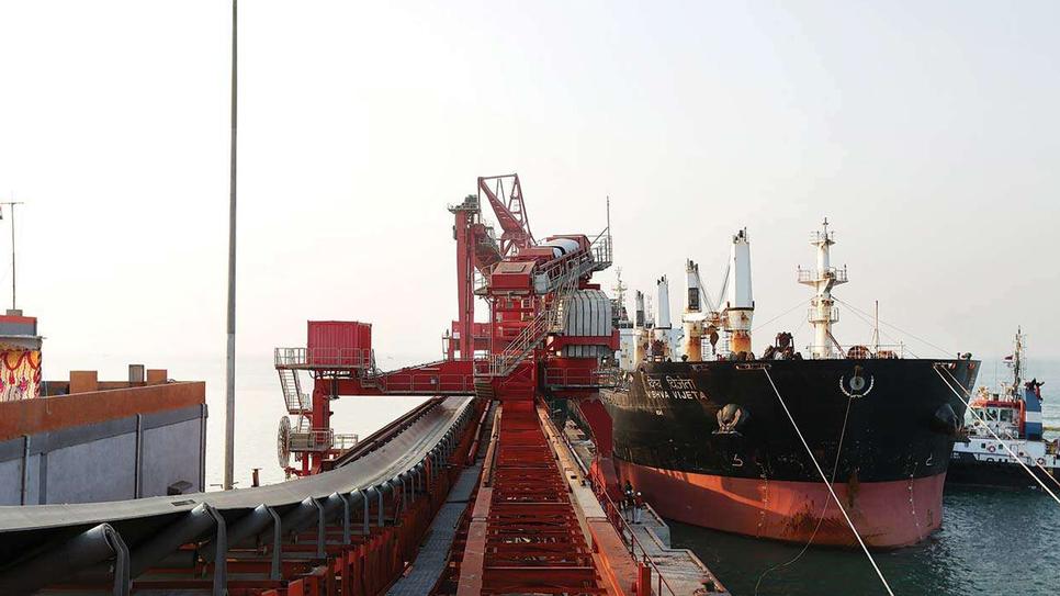 Essar Ports, Essar Power Gujarat, EBTSL, Salaya, Saurashtra, Essar, Cargo, Mozambique, UK, Government of India, Bauxite, Coal, Limestone, Fertiliser, Jamnagar, Okha