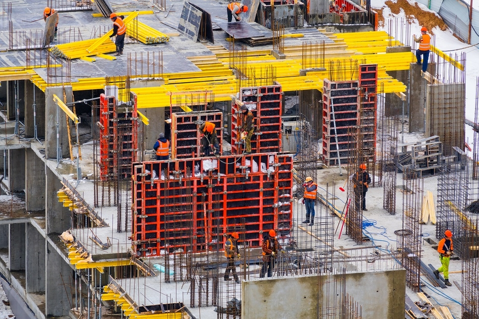 Formwork, Scaffolding, PERI, Ulma, Raj Lakhani, Surajit Ray, Statue of Unity, Construction methodology