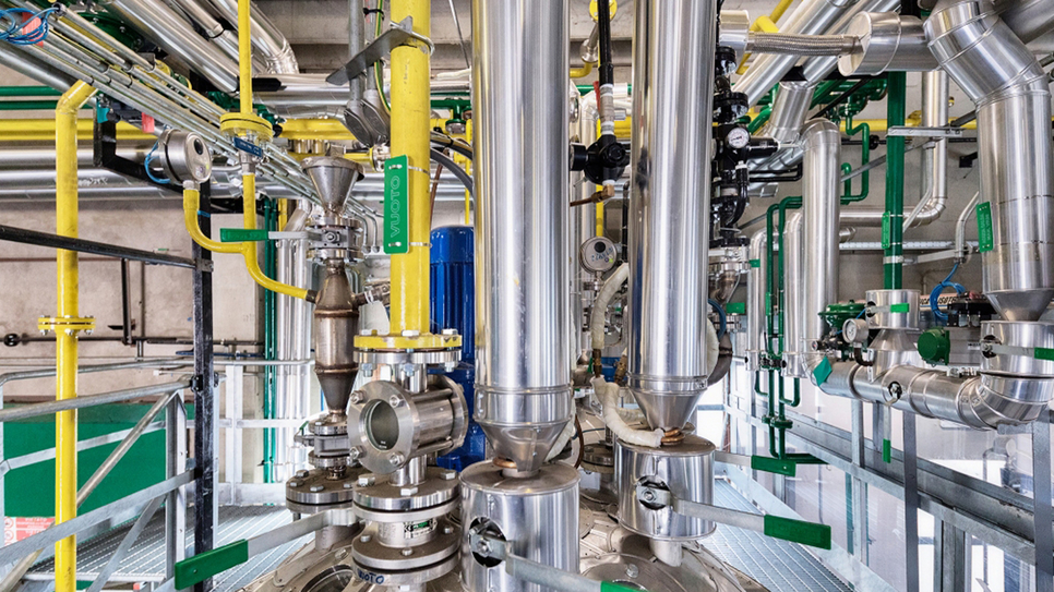 The pilot plant at Latina, Italy, complements LANXESS's existing LF MDI PU production capability in Gastonia, North Carolina, USA
