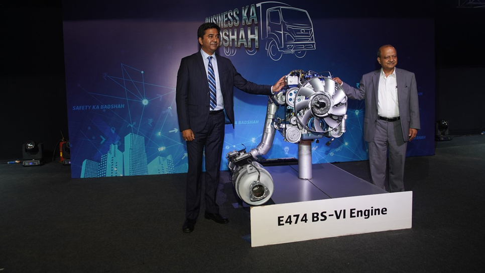 Eicher Trucks and Buses, VE Commercial Vehicles, BS-VI, Eicher Pro 2000, Light-duty trucks, Touch-screen infotainment, Bluetooth, Telematics connectivity, CV, NVH, Eicher Live, Eicher Pro 2049, Eicher Pro 2095XP, Dual mode M-Booster technology, Vinod Aggarwal, Volvo Group, Logistics