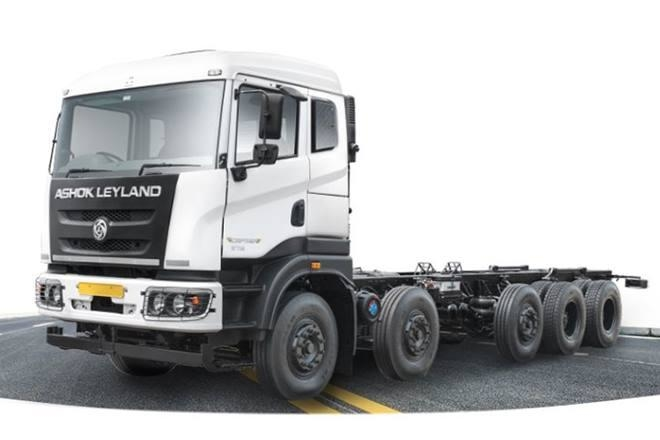 Ashok Leyland, Heavy duty trucks, N Saravanan, Dheeraj Hinduja, BS-VI, ARAI