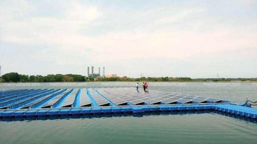 Tata Power, Floating solar power, NTPC, Ashish Khanna, Kayamkulam, Kerala
