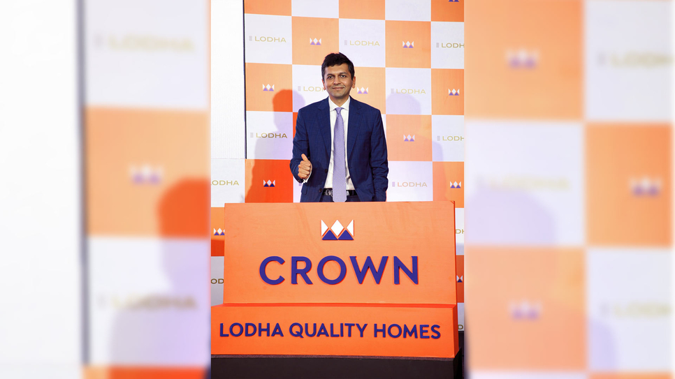 Abhishek Lodha, MD & CEO, Lodha at the launch of CROWN