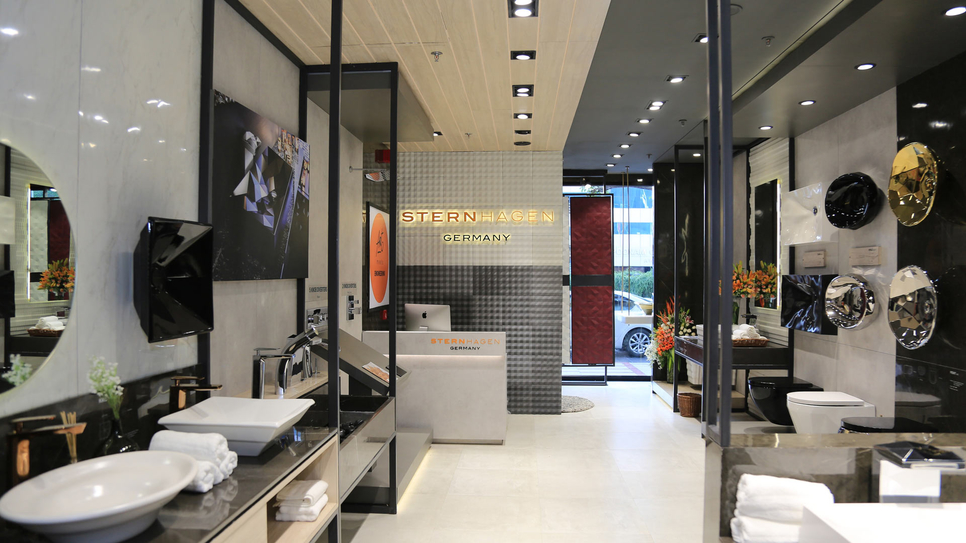 Sternhagen, Germany's premium sanitary ware brand owned by the Acrysil Group, store in Atria Mall - Worli.