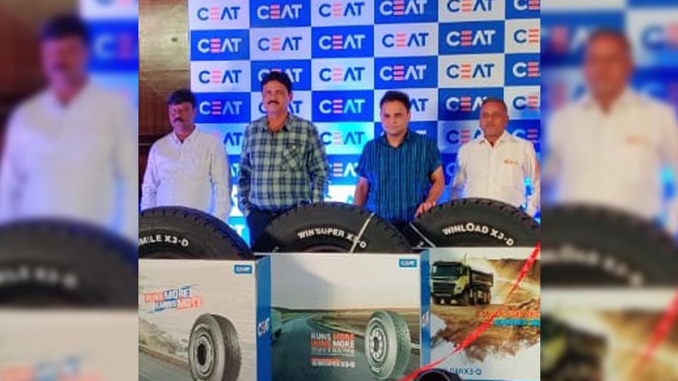 Tyre manufacturer, CEAT, X3 series, Truck tyre, WinLoad X3-D, WinMile X3-D, WinSuper X3-D, Mile XL X3-R, Rock Max X3, Radial tyres, Bias tyres, Arnab Banerjee, Amit Tolani, CEAT Shoppes, CEAT Truck Service Hubs, CEAT dealers