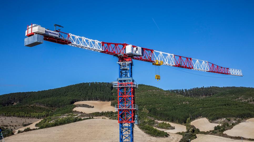 Tower crane, Flat-Top cranes, 21LC1400, Infrastructure, PPVC, Prefabricated Prefinished Volumetric Construction, Shipyards, Mining, COMANSA, Bauma Munich